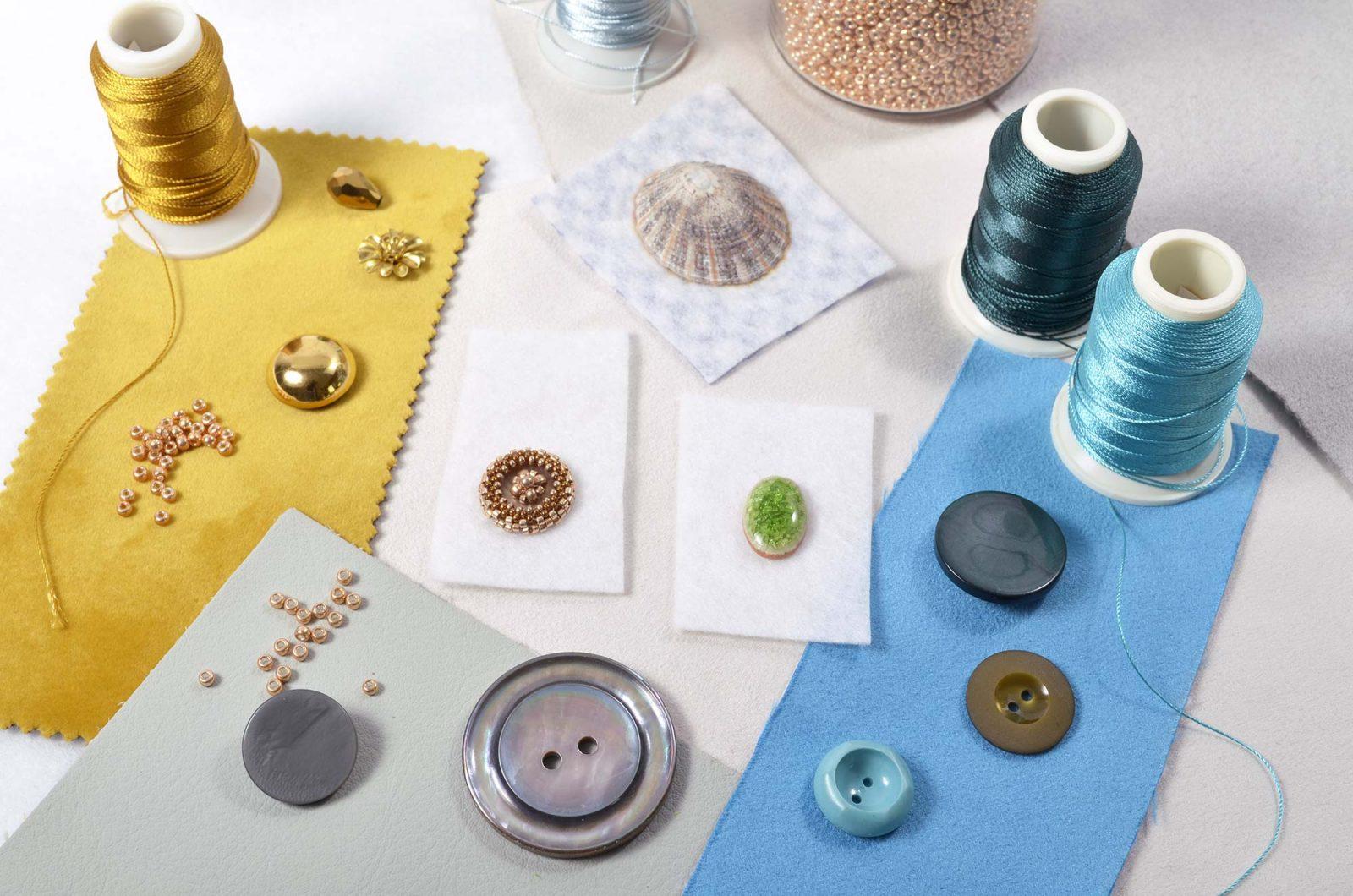 Untergründe für Perlenstickerei