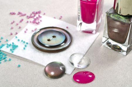 Glascabochon einfärben